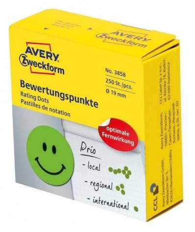 Этикетки Avery Zweckform 3858 70г/м2 зеленый - фото 1