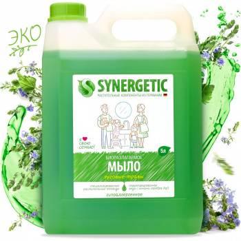 Мыло жидкое Synergetic 5л луговые травы (105500)