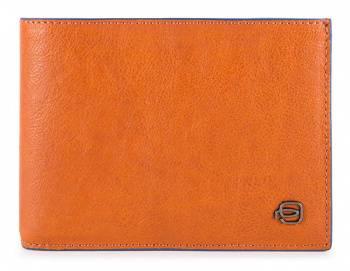 Кошелек мужской Piquadro B2S оранжевый, кожа натуральная (pu1392b2sr/ar)