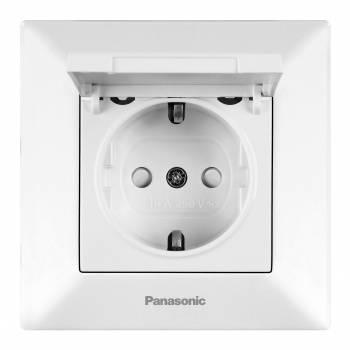 Розетка силовая Panasonic Arkedia белый (упак.:1шт) (wmtc02102wh-ru)