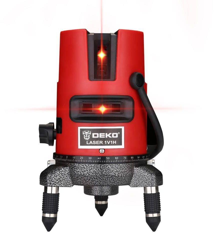 Лазерный уровень Deko DKLL02RB SET 2 (065-0297) - фото 1