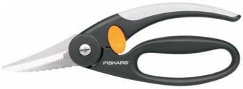 Ножницы кухонные Fiskars 1003032 220мм черный