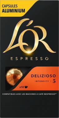 Кофе капсульный L`or Espresso Delizioso в упаковке 100 капсул (8052177)
