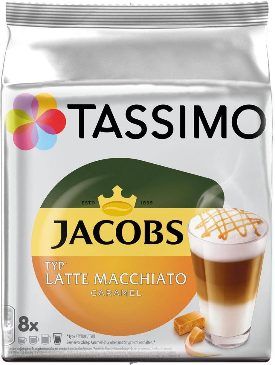 Кофе капсульный Tassimo Latte Caramel в упаковке 8 капсул (8052281) - фото 1