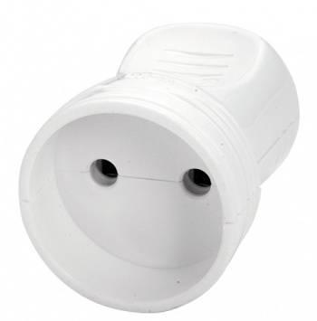 Штепсель электричеcкий Panasonic 90302500-RU тип С 16А белый
