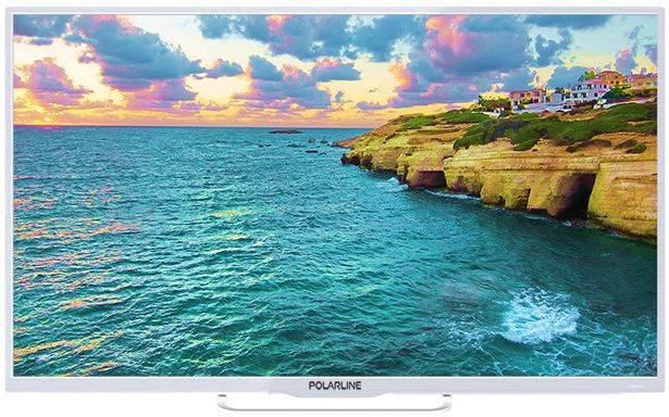 Телевизор PolarLine 40PL53TC белый - фото 1