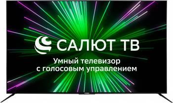 Телевизор Hyundai Салют ТВ H-LED75FU7002 черный