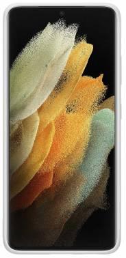 Чехол Samsung Silicone Cover, для Samsung Galaxy S21 Ultra, светло-серый (EF-PG998TJEGRU)