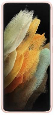 Чехол Samsung Silicone Cover, для Samsung Galaxy S21 Ultra, розовый (EF-PG998TPEGRU)