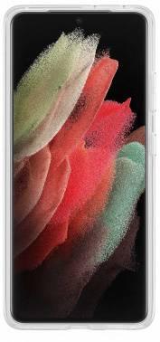 Чехол Samsung Clear Standing Cover, для Samsung Galaxy S21 Ultra, прозрачный (EF-JG998CTEGRU)