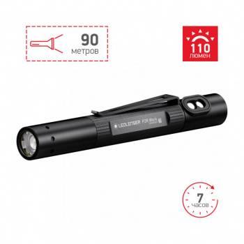 Карманный фонарь Led Lenser P2R Work черный (502183)