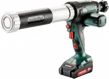 Пистолет Metabo KPA 18 LTX 400 аккум. закр. для герметиков зеленый/черный (601206600)
