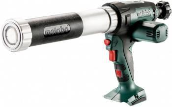 Пистолет Metabo KPA 18 LTX 400 аккум. закр. для герметиков зеленый/черный (601206850)