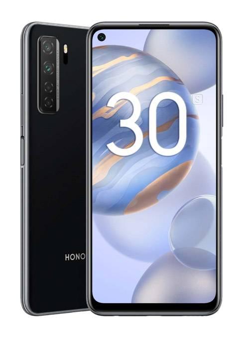 Смартфон Honor 30S 128ГБ черный (HONOR30S128GB) - фото 1