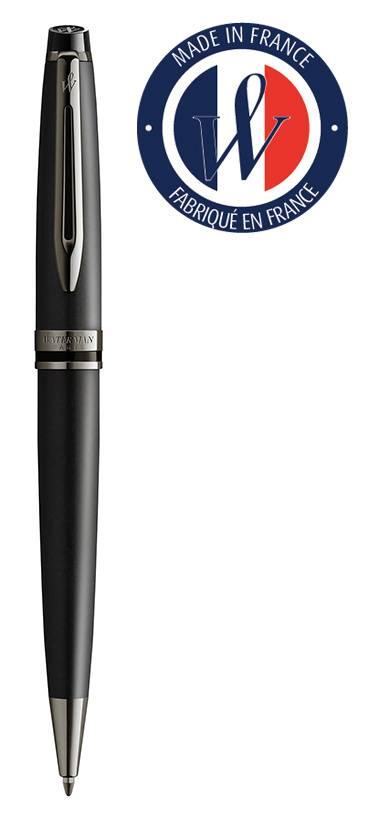 Ручка шариковая Waterman Expert DeLuxe Metallic Black RT (2119251) - фото 1