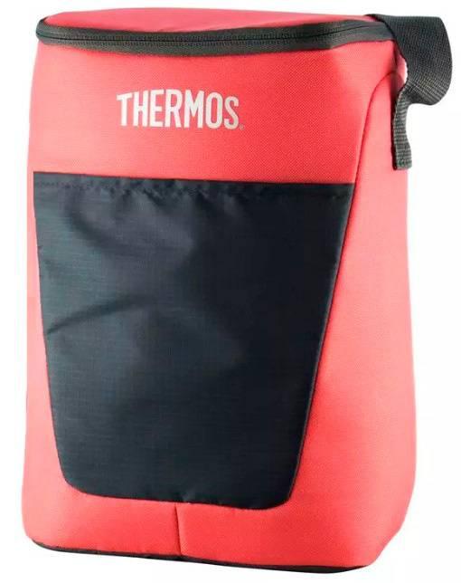 Сумка-термос Thermos Classic 12 Can Cooler 10л. розовый/черный (287618) - фото 1