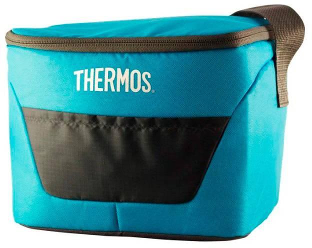 Сумка-термос Thermos Classic 9 Can Cooler 7л. синий/черный (287564) - фото 1