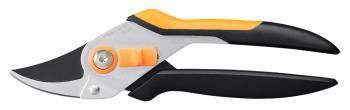 Секатор плоскостной Fiskars Solid P331 черный/оранжевый (1057163)