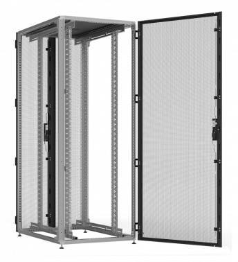Шкаф серверный ITK ZPAS ZP05-42U-0610-PP 42U черный