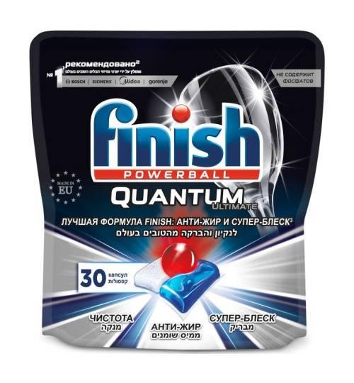 Капсулы Finish Quantum Ultimate (упак.:30шт) (3120272) - фото 1