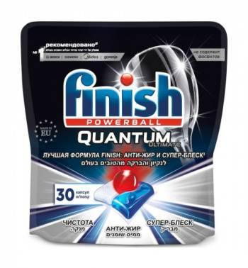 Капсулы Finish Quantum Ultimate (упак.:30шт) (3120272)