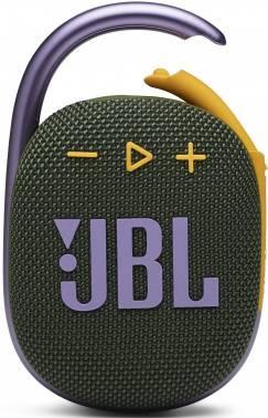 Колонка портативная JBL Clip 4 зеленый (jblclip4grn)