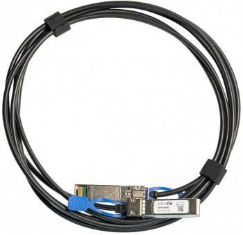 Патч-корд MikroTik XS+DA0001 SFP28-SFP28, 1м черный