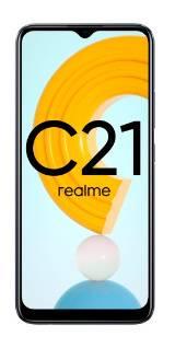 Смартфон Realme C21 64ГБ черный (5990827)