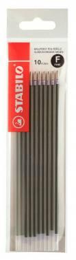 Стержень для шариковых ручек Stabilo 0800F/1041 0.38мм стреловидный пиш. наконечник синий