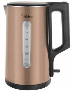 Чайник электрический Midea MK-8079 бронзовый