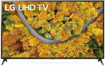 Телевизор LG 70UP75006LC черный