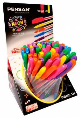 Набор гелевых ручек Pensan Neon Gel (442087)