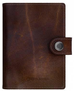 Кошелек Led Lenser Lite Wallet коричневый, кожа натуральная (502400)