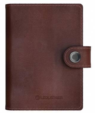Кошелек Led Lenser Lite Wallet темно-коричневый, кожа натуральная (502326)