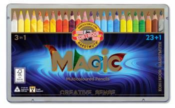 Карандаши цветные Koh-I-Noor Magic 3408 цветной корпус 24цв. (3408024001plru)