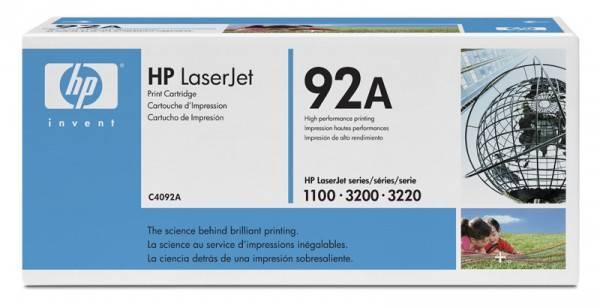 Тонер Картридж HP 92A C4092A черный - фото 1