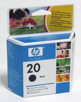 Картридж струйный HP №20 C6614DE черный