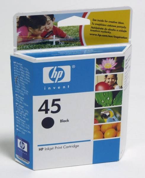 Картридж HP 45 черный (51645AE) - фото 3