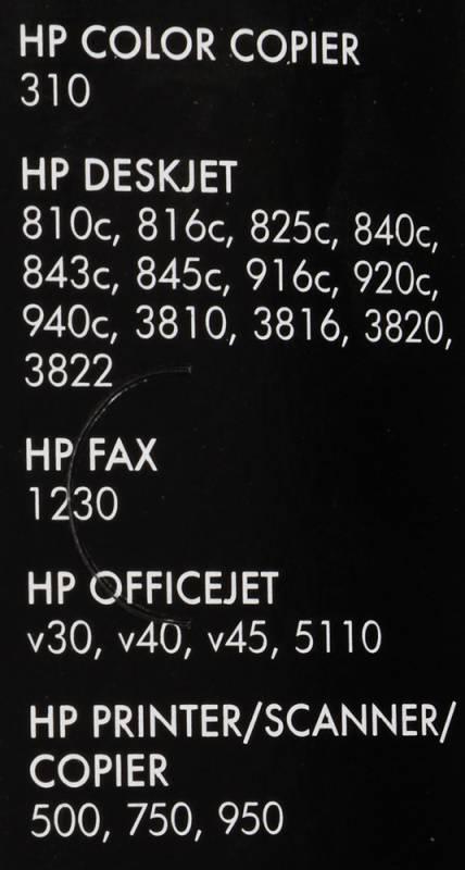 Картридж HP 15 черный (C6615DE) - фото 2