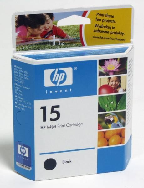 Картридж HP 15 черный (C6615DE) - фото 3