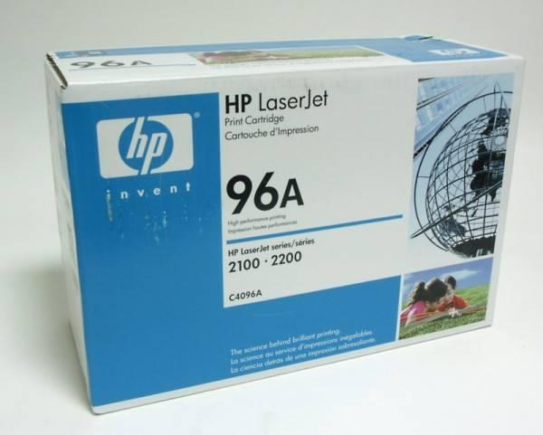Картридж HP 96A черный (C4096A) - фото 2