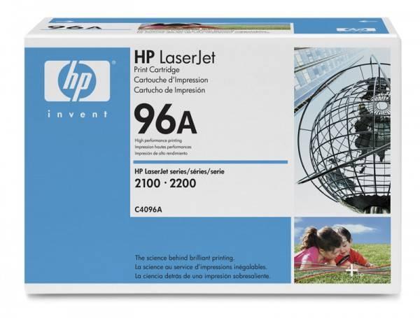 Тонер Картридж HP 96A C4096A черный - фото 1