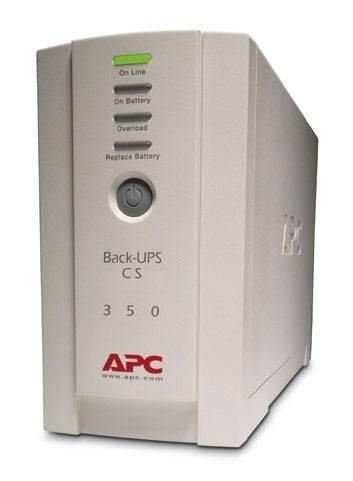 ИБП APC Back-UPS BK350EI белый - фото 1