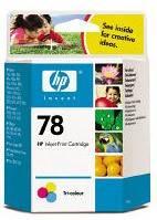 Картридж HP 78 многоцветный (C6578D)