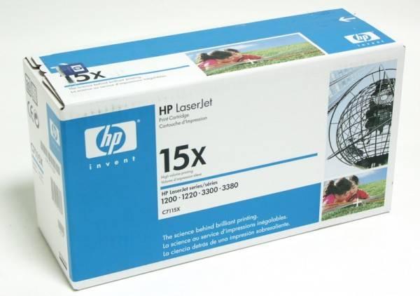 Тонер Картридж HP 15X C7115X черный - фото 2