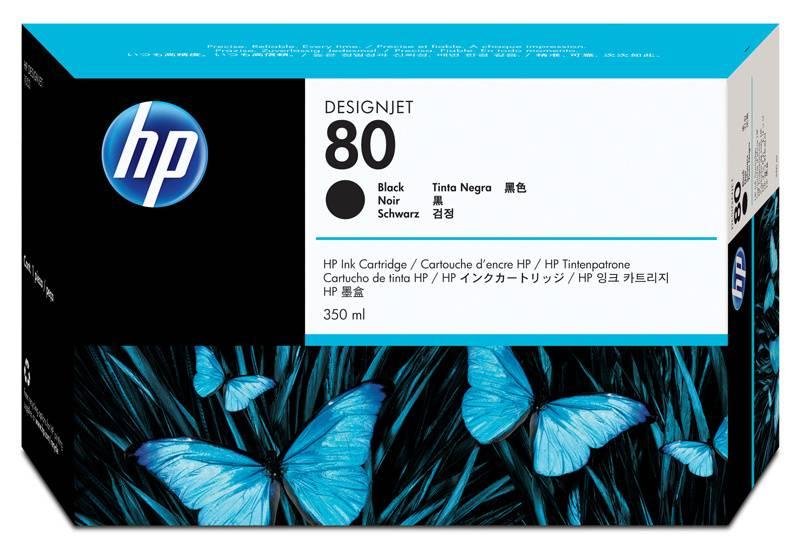 Картридж HP C4871A черный - фото 1