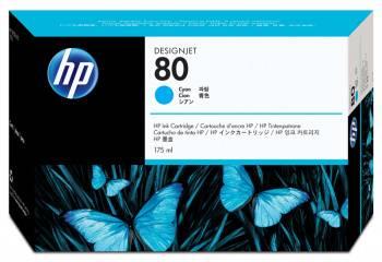 Печатающая головка HP 80 голубой (C4821A)
