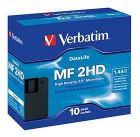 Диск для записи  Verbatim Datalife 87410