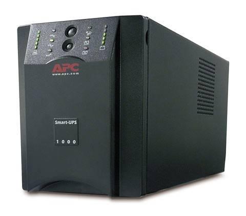 ИБП APC Smart-UPS SUA1000I черный - фото 3