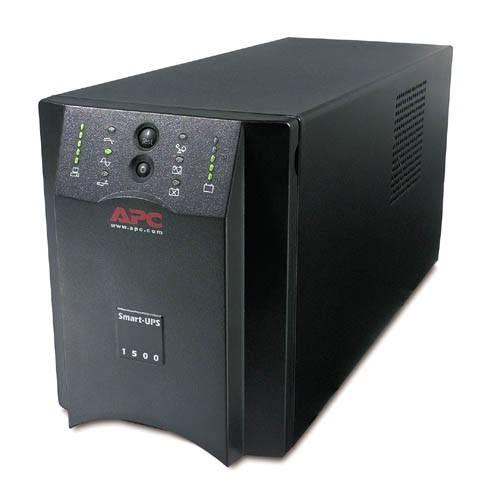 ИБП APC Smart-UPS SUA1500I черный - фото 1